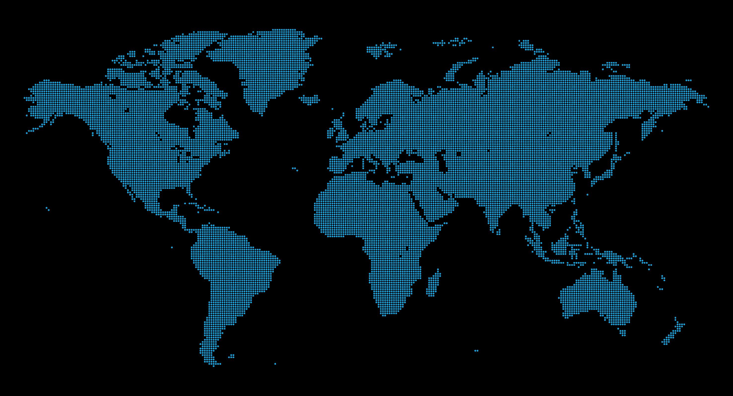 Maia Global Reach Map